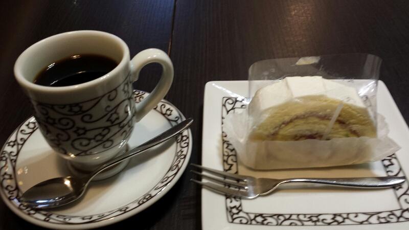 元町珈琲(名古屋)のケーキセット
