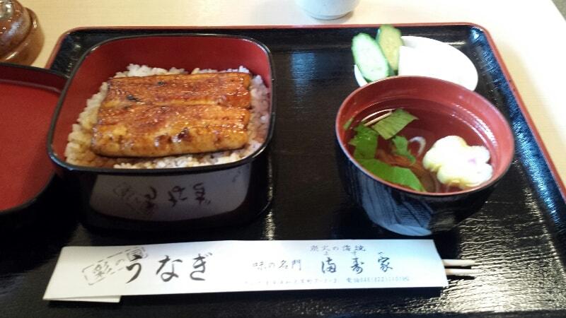 埼玉の浦和で見つけたうなぎの満寿家(ますや)のうなぎ