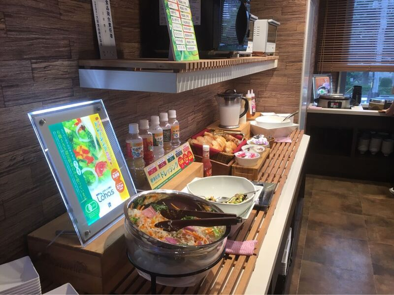 盛岡のスーパーホテルの朝食