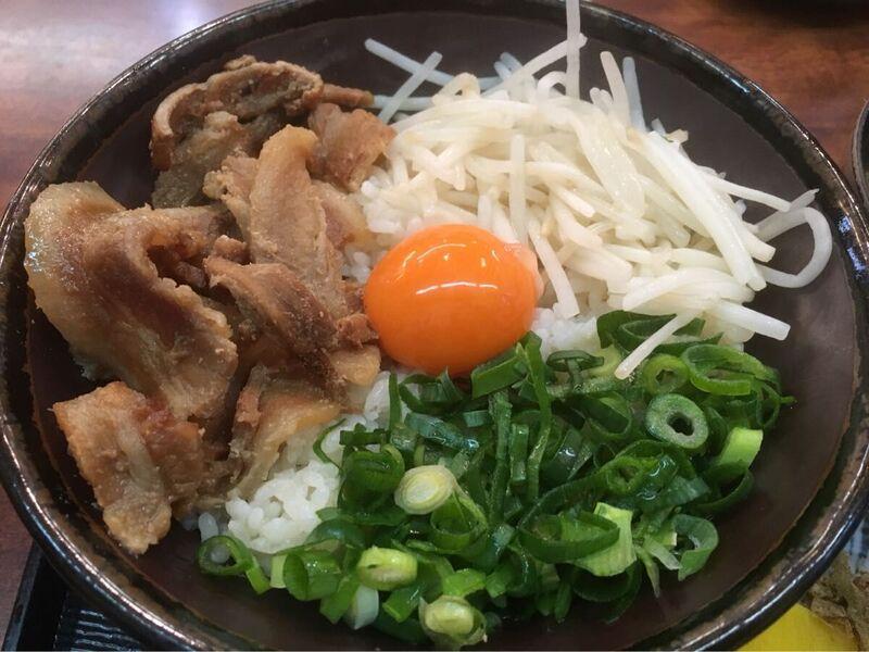 徳島のけんど茶屋のとくしま丼