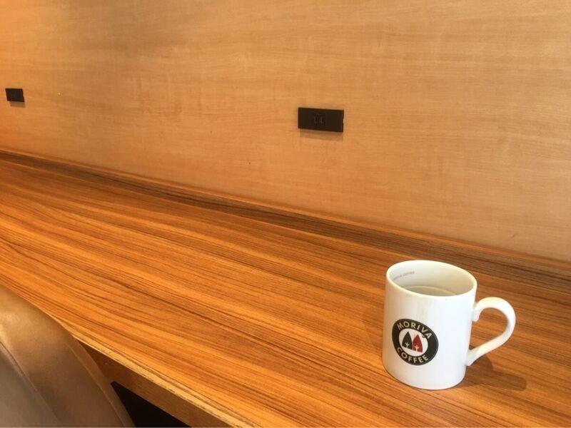 渋谷道玄坂のモリバコーヒーは電源あり