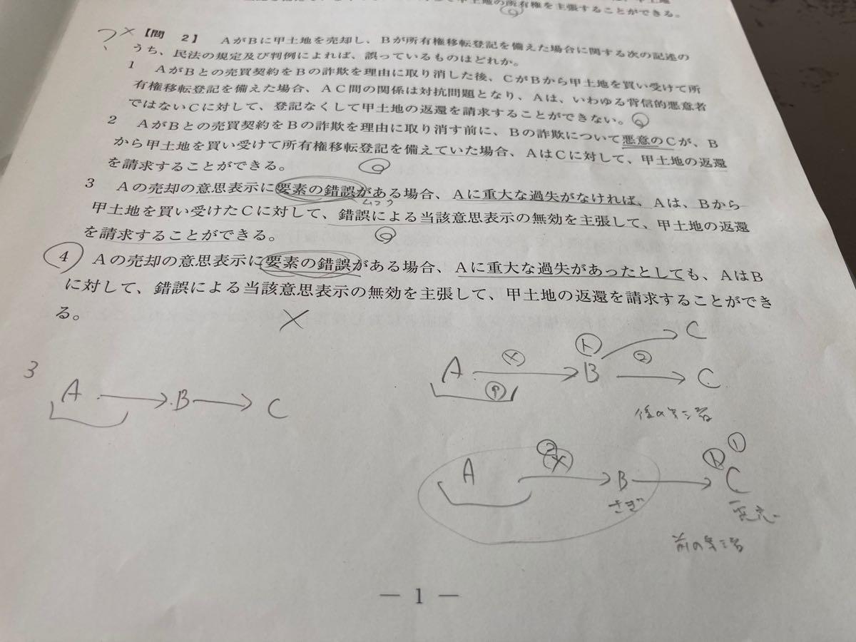 宅建士本試験問題(令和元年)